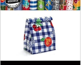 DIY Oilcloth Lunch Bag Kit