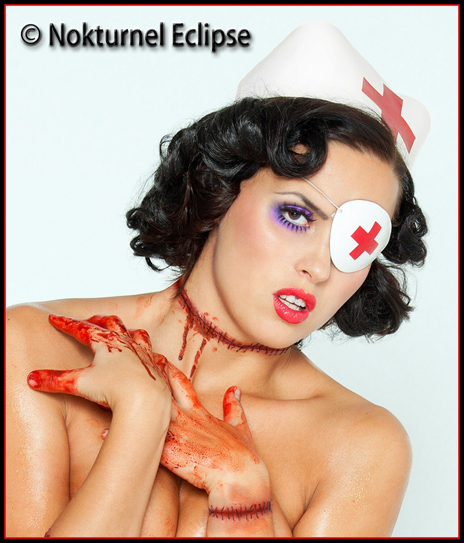 Kill Bill Nurse Fancy Dress Cross Nurse Kill Bill Elle