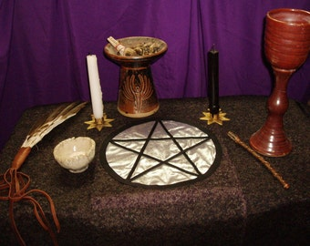 Altar Cloth Pentacle
