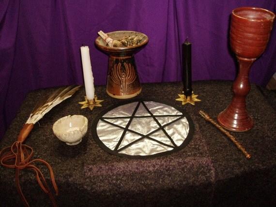 Altar Cloth Pentacle