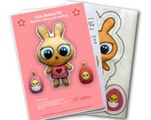 Easter Bunny Kit - sew a cute bunny doll