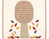 Autumn Tree Mini Quilt by Louise Papas