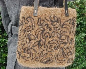 Handfelted handbag