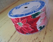 vintage craft holiday ribbon