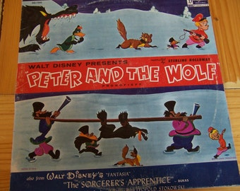 peter and the wolf  vinyl record