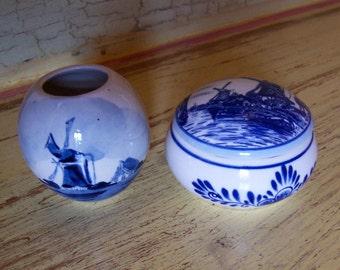 little holland blue delft pieces