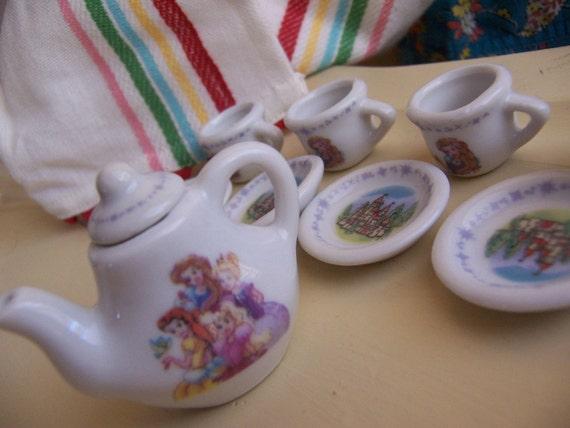 wee little tea set