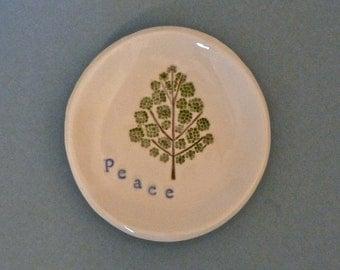 Peace tree dish