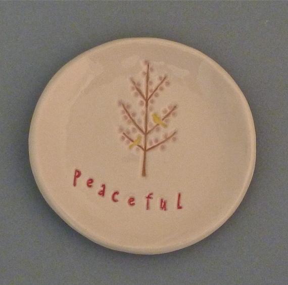 Peaceful tree dish