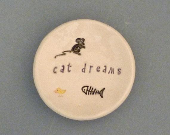 Cat dreams dish