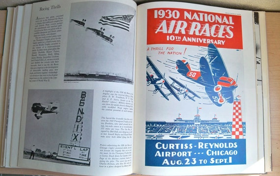 Vintage Book The American Heritage History of Flight