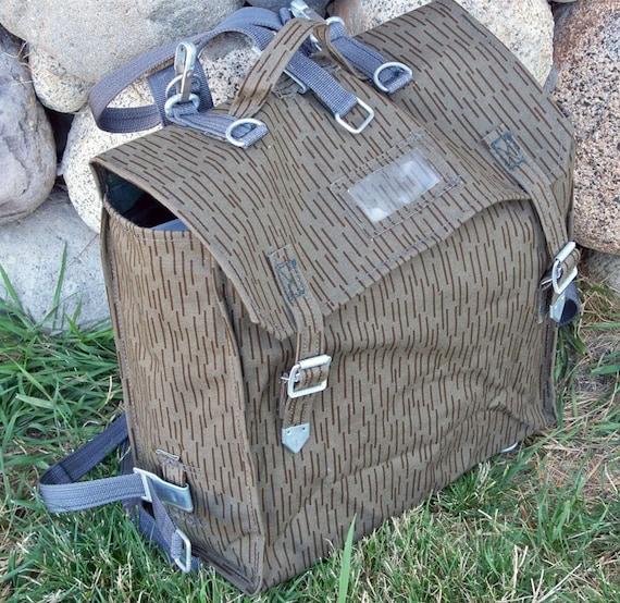 Army Surplus Backpack - Rucksack Repurpose as Book Bag, Brief Case, Bike Pannier, Stuff Hauler