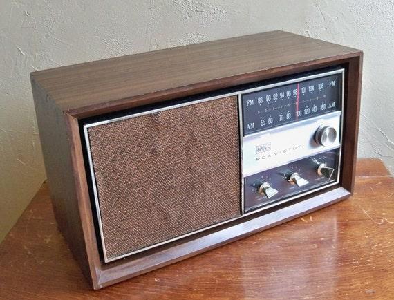 """1965 RCA Victor AM/FM Radio - Model RHC33W """"You'll Get a Big Beefy Sound from This Retro Classic"""""""