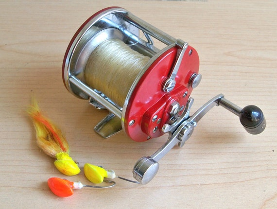 Vintage penn 209 level wind reel usa made fishing reel for American made fishing reels
