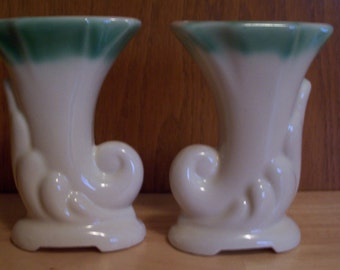 Vintage Horn Vase