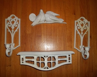 Vintage White Wall Hangings