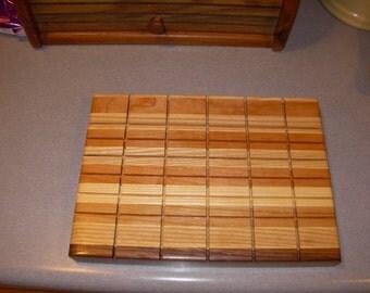 cutting board cheese , deli tray