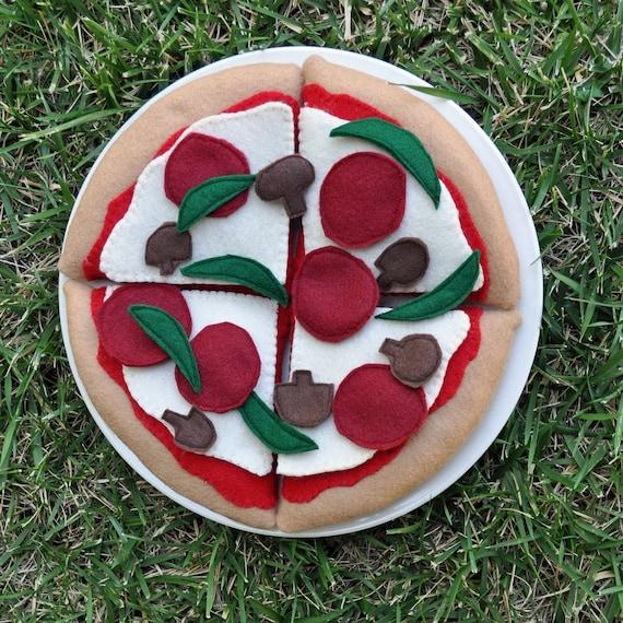 Felt Food- Whole PIzza Set