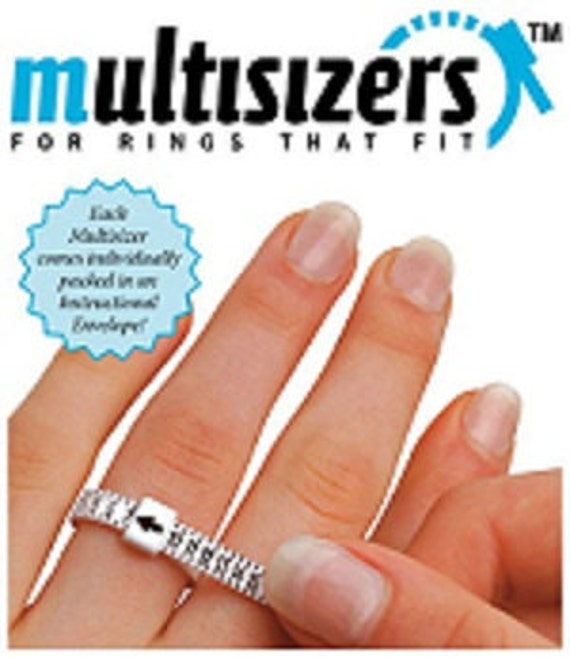 Eliminate Guesswork...Reusable Plastic Ring Sizer