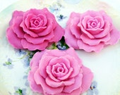 Forbidden Fantasy (type) Scented Soap Roses, 3-Piece Set
