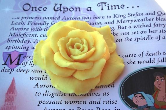 Yellow  Rose shaped  Soap wedding