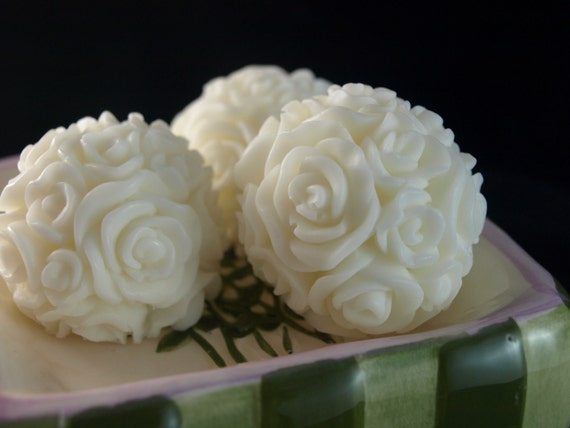Rose Guest soaps Perfect for Mothers Day, Bridal Showers, Weddings