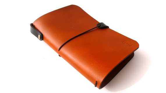Leather cover for Moleskine Journals and Cahiers (Free Monogramming)