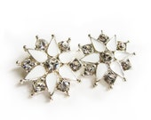 5 Star Enamel Rhinestone buttons for Wedding Hair Accessories Scrapbooking Invitation Card RB-082 (24mm or 0.9 inch)