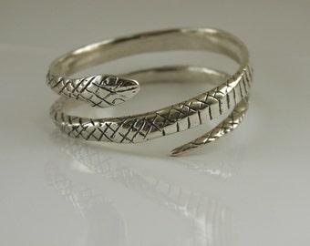 Coiled Snake Bracelet
