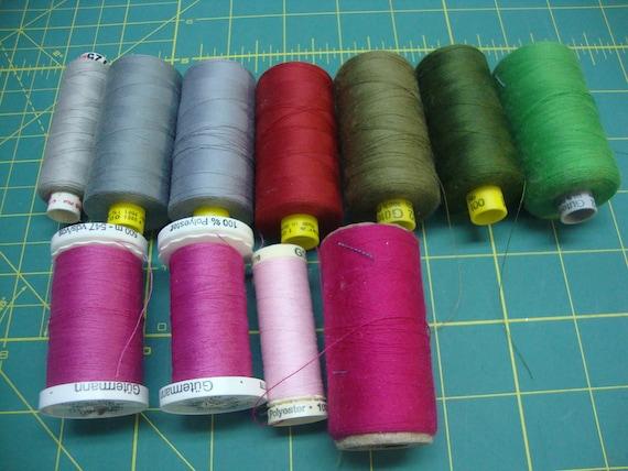 Thread assortment Large Spools Gutermann 100% Polyester Thread