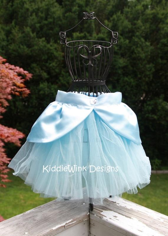 Items Similar To Cinderella Inspired Tutu Costume On Etsy