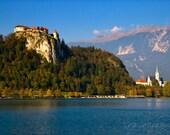 """The Magic Castle - Fairytale Slovenian setting 5 x 7"""" fine art photography print"""