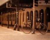 Resting bicycle in Cracow 8x12 Fine art photo print,  Poland, Krakow