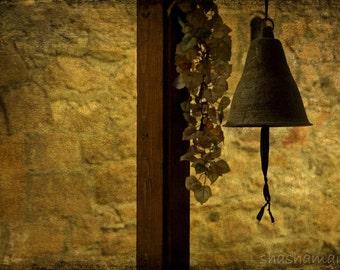 Church bells, Hymn from a village 5x7 fine art photography print