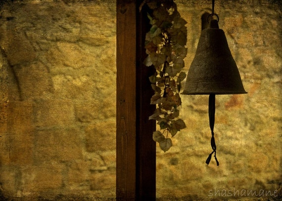 Church bells, Hymn from a village 5x7 fine art photography print