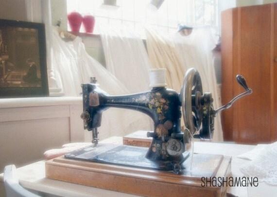 Singer Sewing Machine 5x7 art photo print