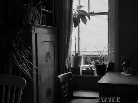 Thereafter 12x16 black and white art photo print