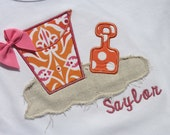 pretty fun beach toy sandpail shirt- perfect for summer vacations