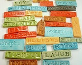 36 random MOSAIC INSPIRATION TILES/cleaning out shop