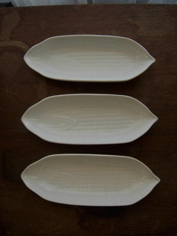 Set of Cob Corn Dishes