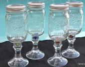 4 Redneck Wine Glasses: Redneck Wine Glass