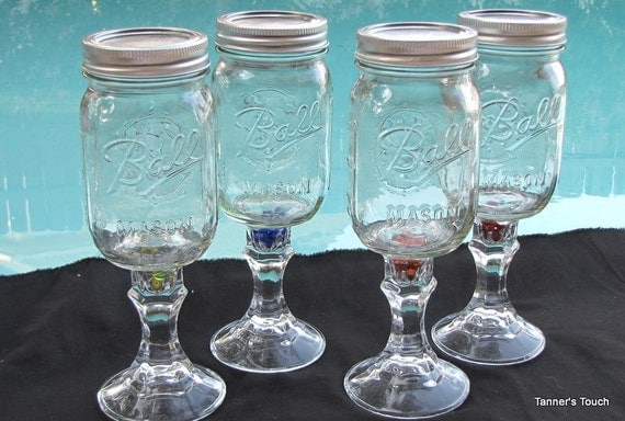 4 Redneck Wine Glasses: Redneck Wine Glass