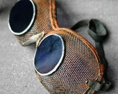 The blue eyes goggles. RESERVED FOR TARA