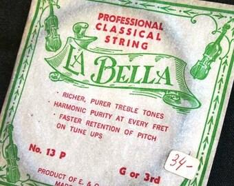La Bella. Professional classical string.