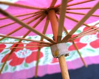 Large paper parasol for big party