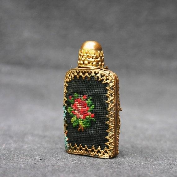 Stunning antique precious perfume vial