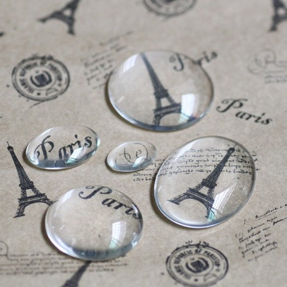 40PCS 13x18mm Oval Clear Glass Cabochon Wholesale