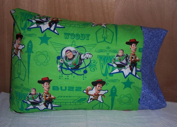 Standard Pillow Case-Toy Story PillowCase -Woody and Buzz