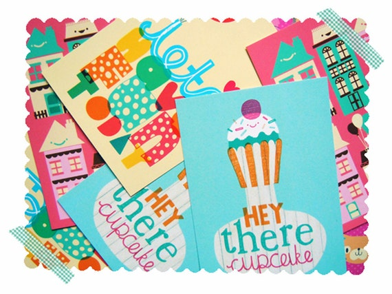 Happy Note Card Set