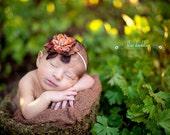 Autumn Flower Headband